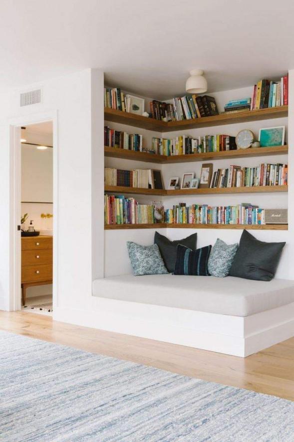 Leseecke Wohnzimmer Frisch Samantha Gluck Emily Henderson von Leseecke Wohnzimmer Gestalten Bild