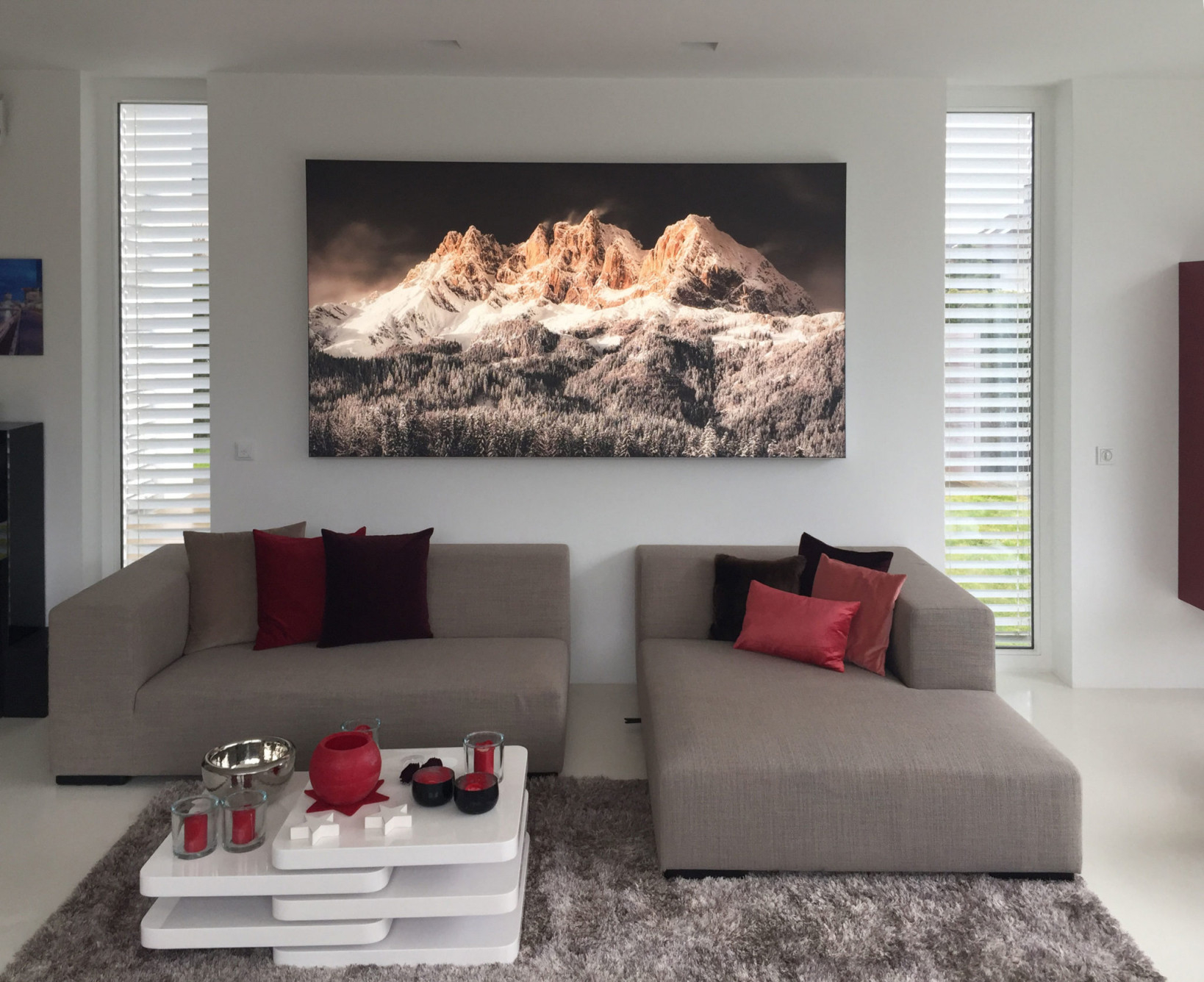 Leuchtbilder Mit Individueller Ccs Led Technik Ausgestattet von Bilder Großformat Wohnzimmer Photo