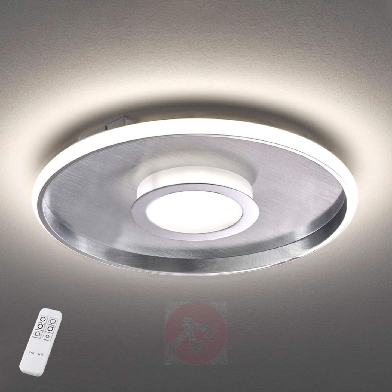 Leuchten  Leuchtmittel Deckenlampe Led Modern Dimmbar Chrom von Deckenlampe Wohnzimmer Modern Photo
