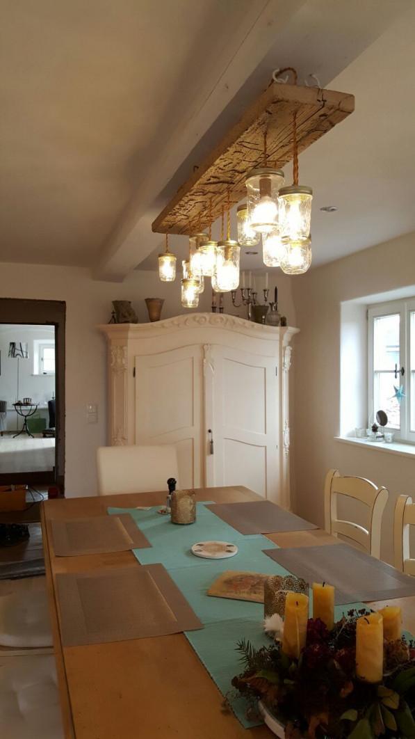 Leuchtensonderbau Im Landhausstil Für Eine Rustikale von Wohnzimmer Lampe Landhausstil Bild