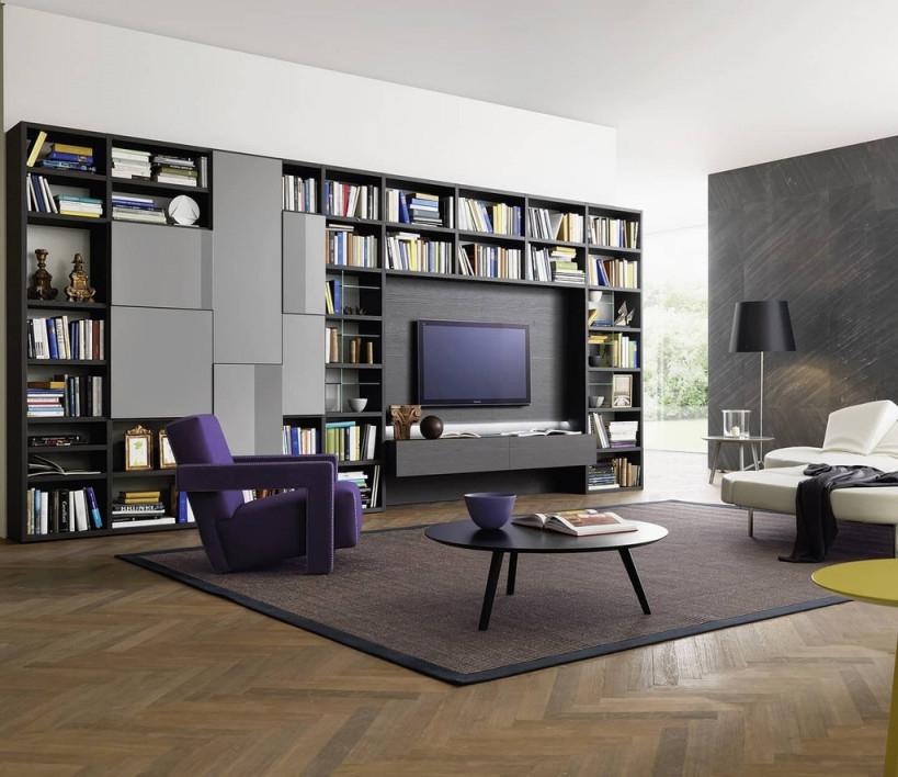 """Livarea В Twitter """"bücherregal Mit Tv Modul Aus Italien von Bücherregal Wohnzimmer Ideen Bild"""