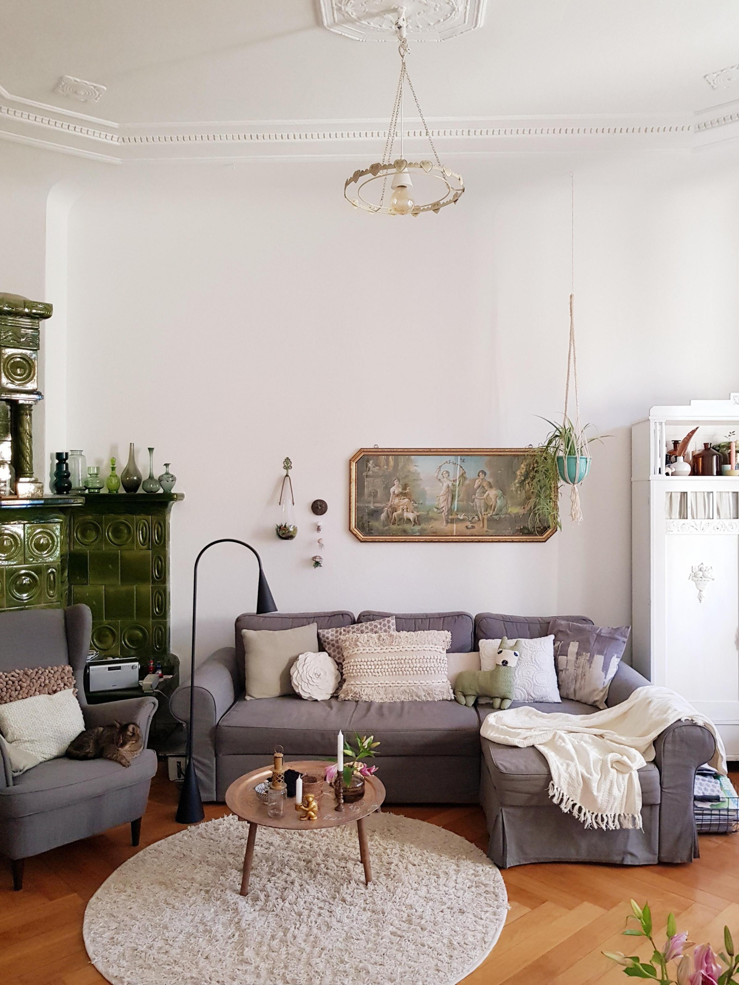 Livingchallenge Wohnzimmer Altbau Stuck Parkett von Wohnzimmer Ideen Altbau Photo