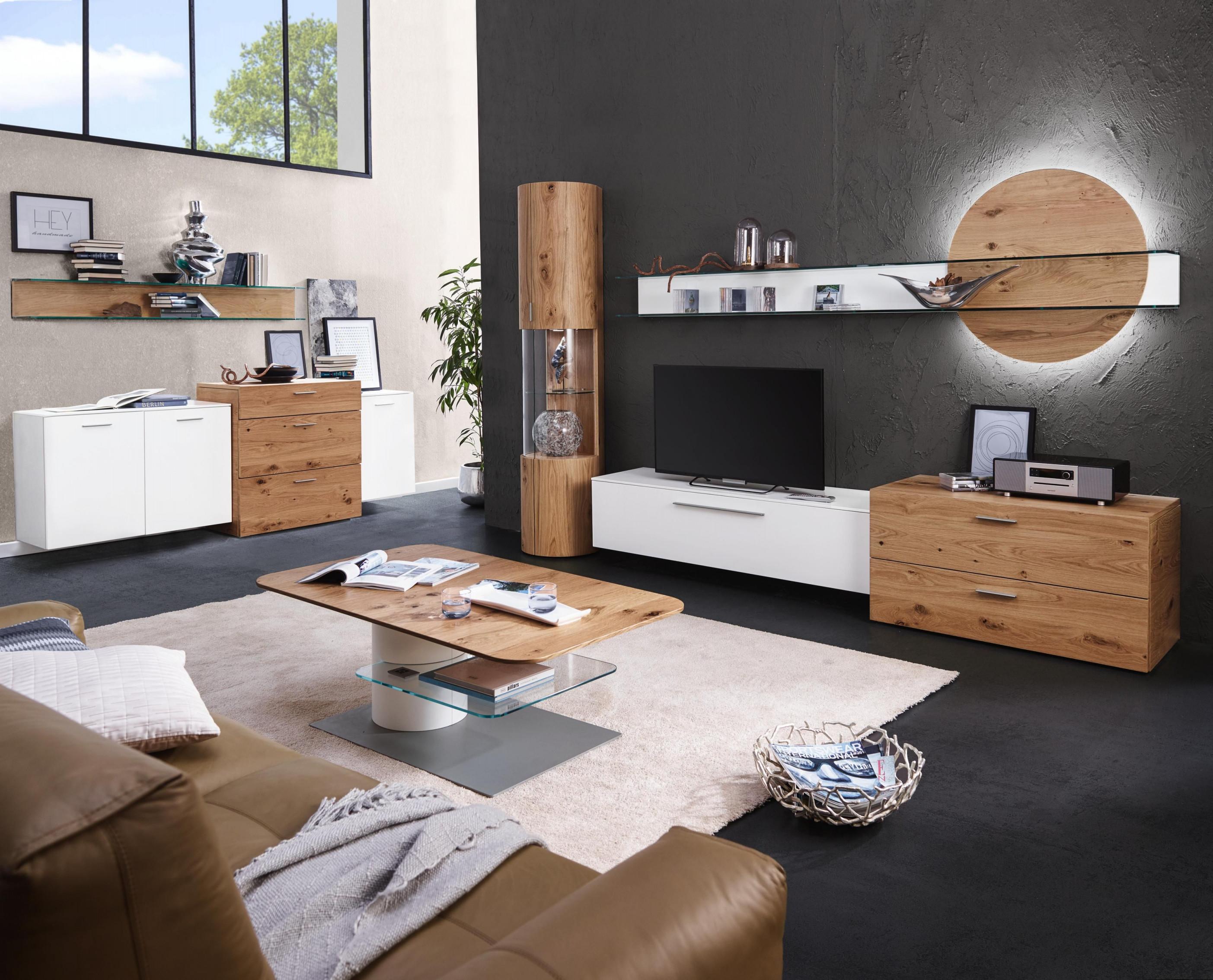 Luxuriöse Wohnwand Von Ambientehülsta  Premiumqualität von Wohnwand Gestalten Wohnzimmer Photo