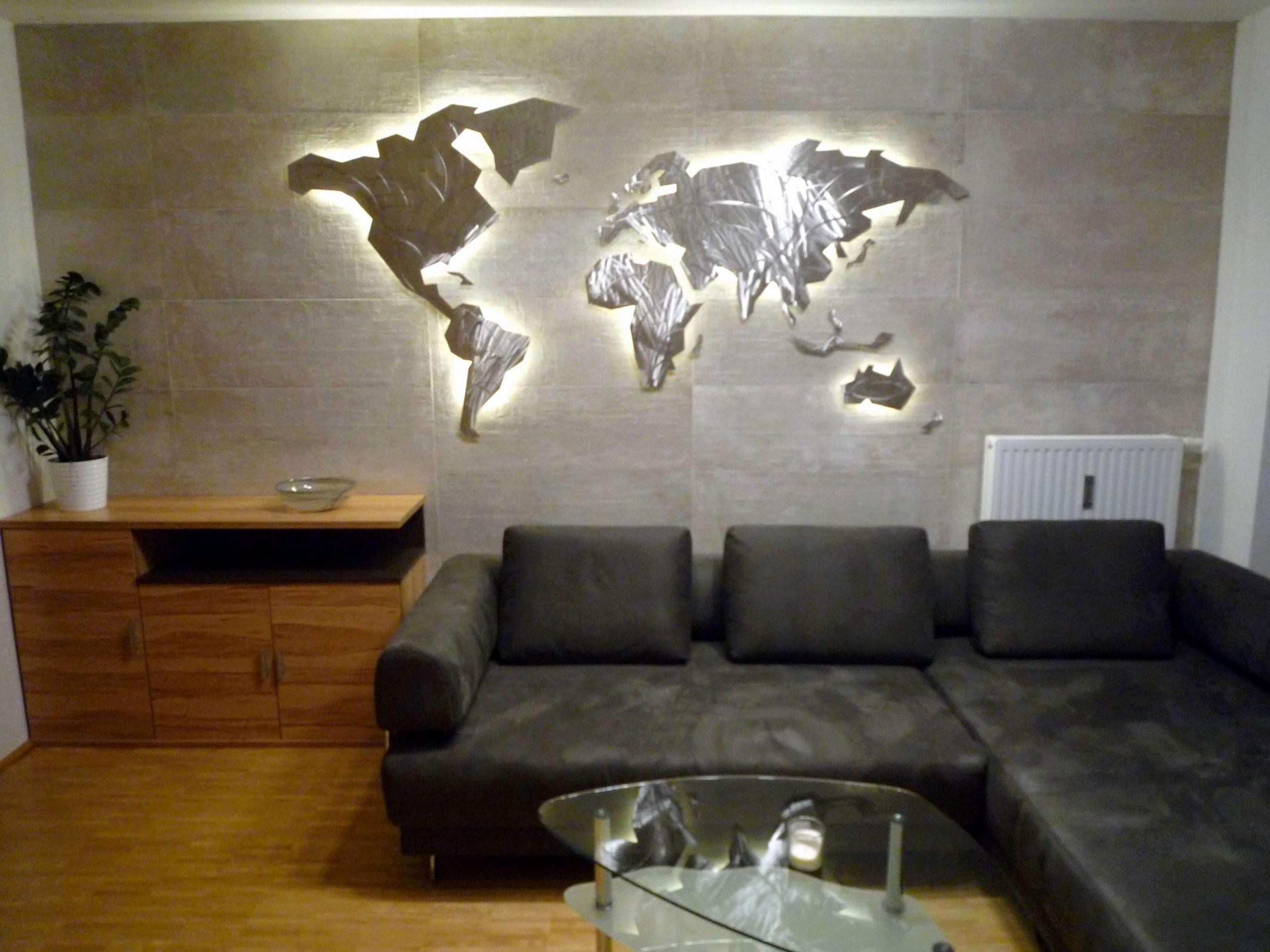 Luxus Holz Deko Wand Bild Von Holz Dekoration Wand Photo von Deko Für Wand Wohnzimmer Bild