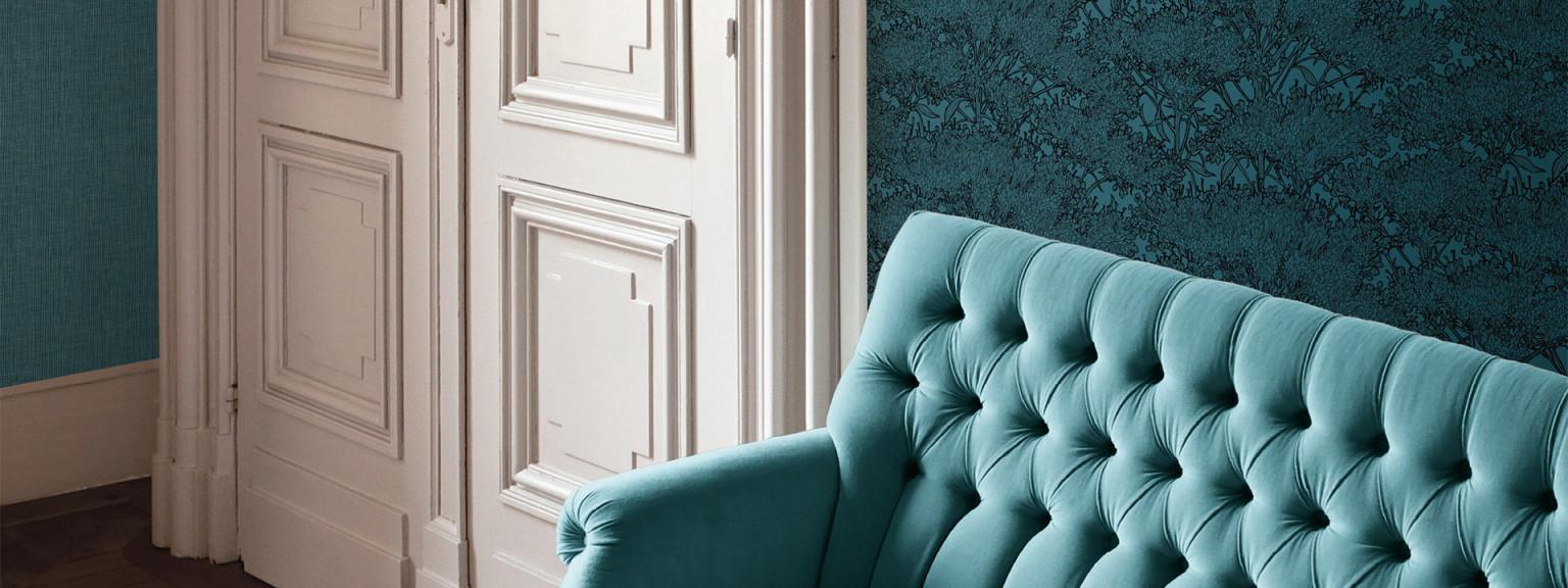Luxustapeten Der Glamouröse Trend Für Deine Wand von Luxus Tapeten Wohnzimmer Photo