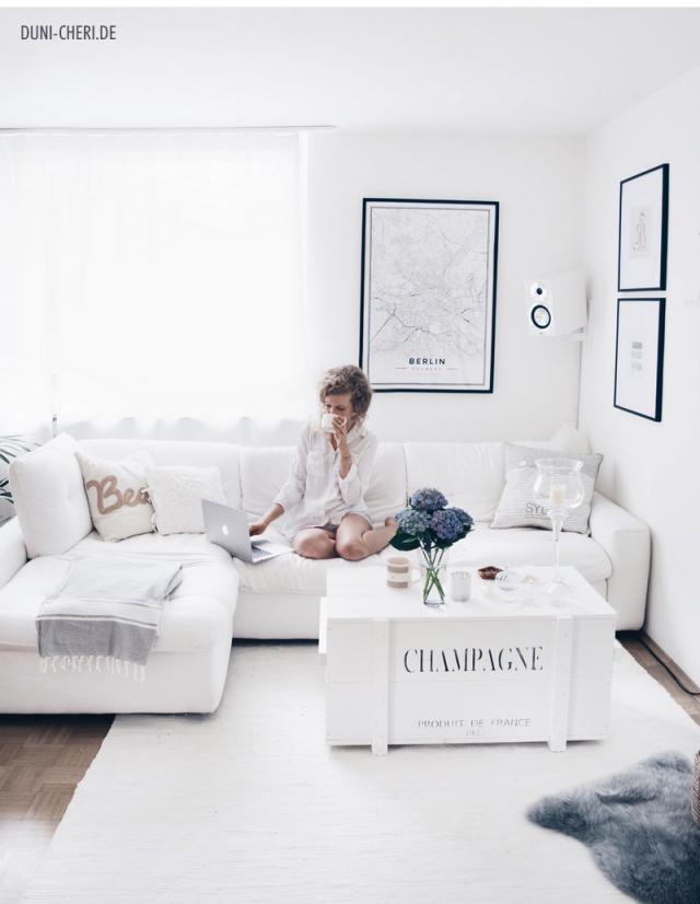 Maritim Im Wohnzimmer  Einrichtungstipps Für Ein Meer von Weißes Wohnzimmer Einrichten Photo