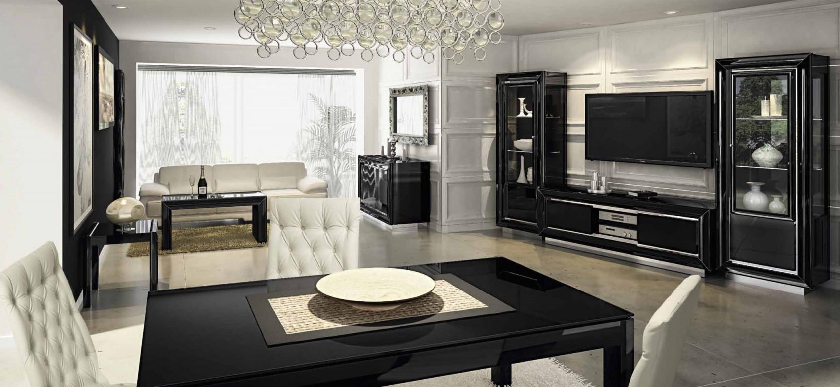 Maskulin Wohnzimmer Ideen Mit Schwarzen Möbeln  Dekomobel von Möbel Ideen Wohnzimmer Bild