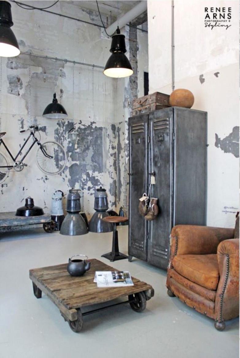 Maskuline Einrichtung So Wohnt Der Mann Mit Stil  Nzz Bellevue von Männer Deko Wohnzimmer Bild