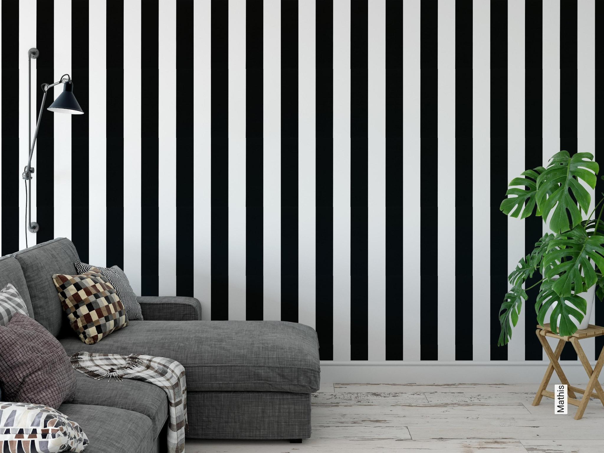 Mathis von Streifen Tapeten Wohnzimmer Photo