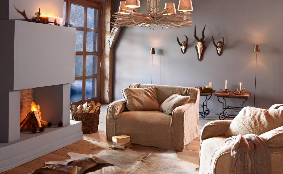 Mediterrane Einrichtung von Mediterranes Wohnzimmer Gestalten Photo