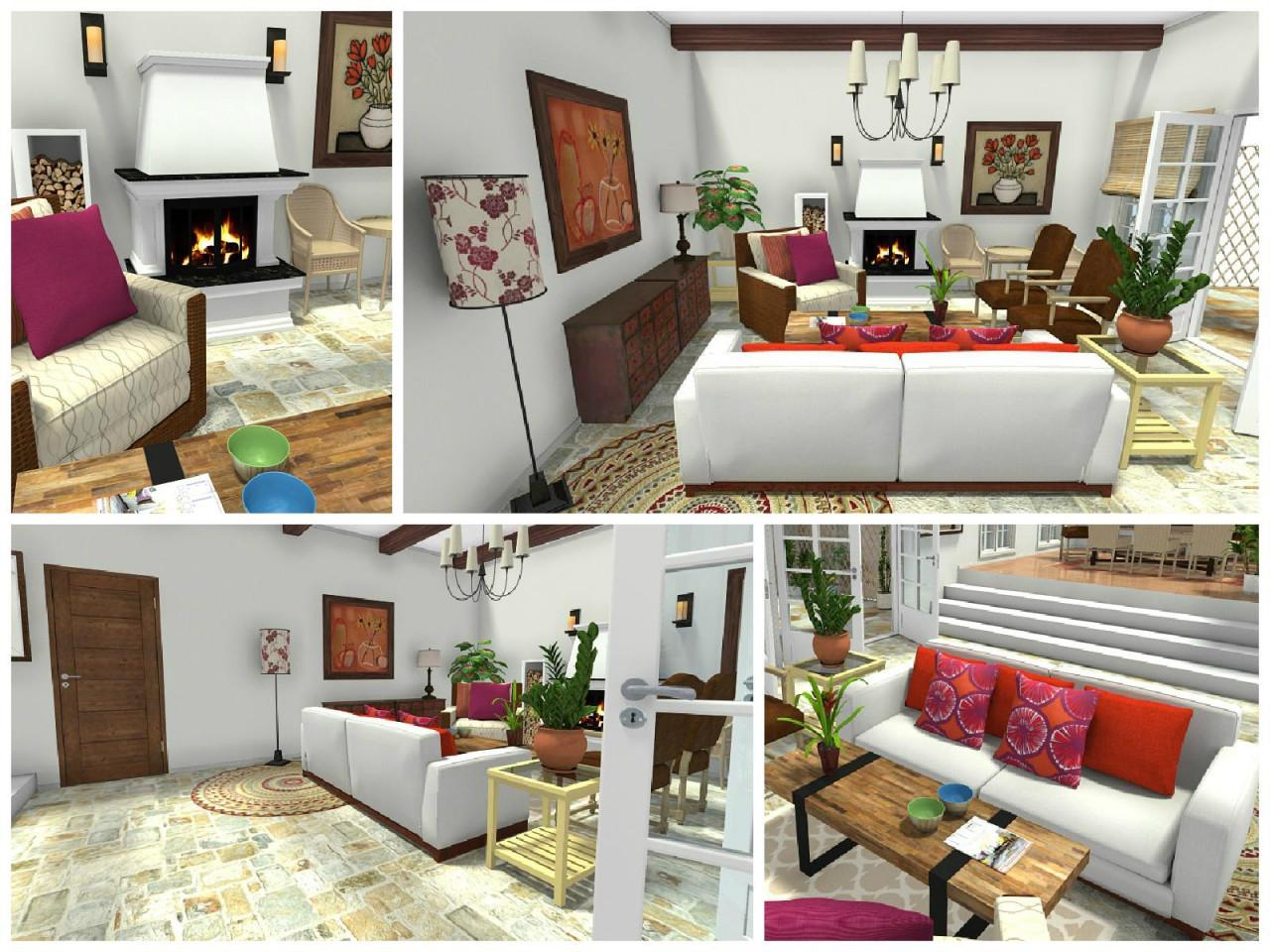 Mediterranes Wohnzimmer • Bilder  Ideen • Couch von Mediterranes Wohnzimmer Gestalten Bild