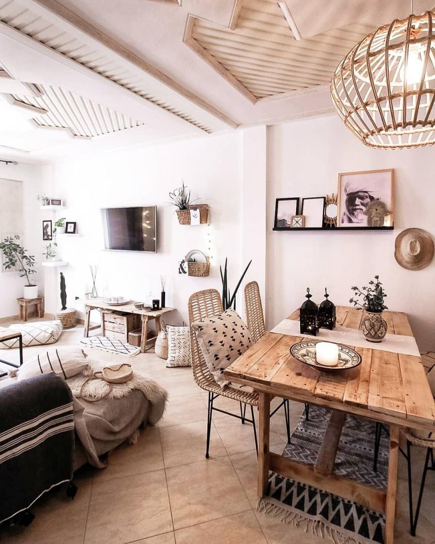 Mein Boho Esszimmer Mit Marokkanischer Deko Aus Unserem von Orientalische Deko Wohnzimmer Bild