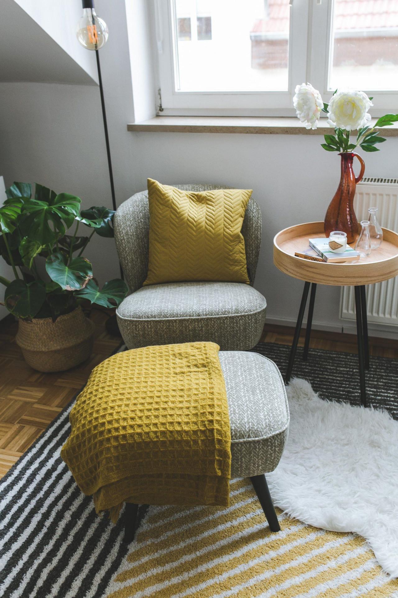 Meine Leseecke Im Home Office  Ein Ort Zum Entspannen Und von Leseecke Einrichten Wohnzimmer Photo