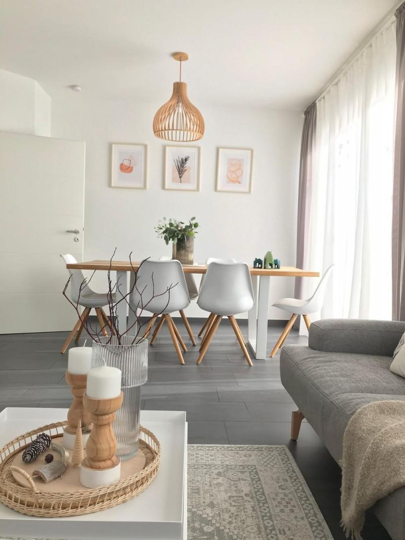 Minimal Cozy Home In 2020  Wohnzimmer Einrichten Ideen von Wohnzimmer Hell Einrichten Bild