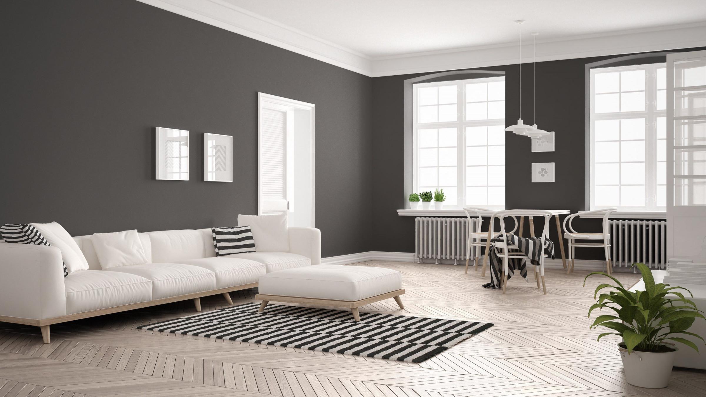 Minimalistisch Einrichten – Weniger Haben Gemütlicher Wohnen von Wohnzimmer Ideen Minimalistisch Photo