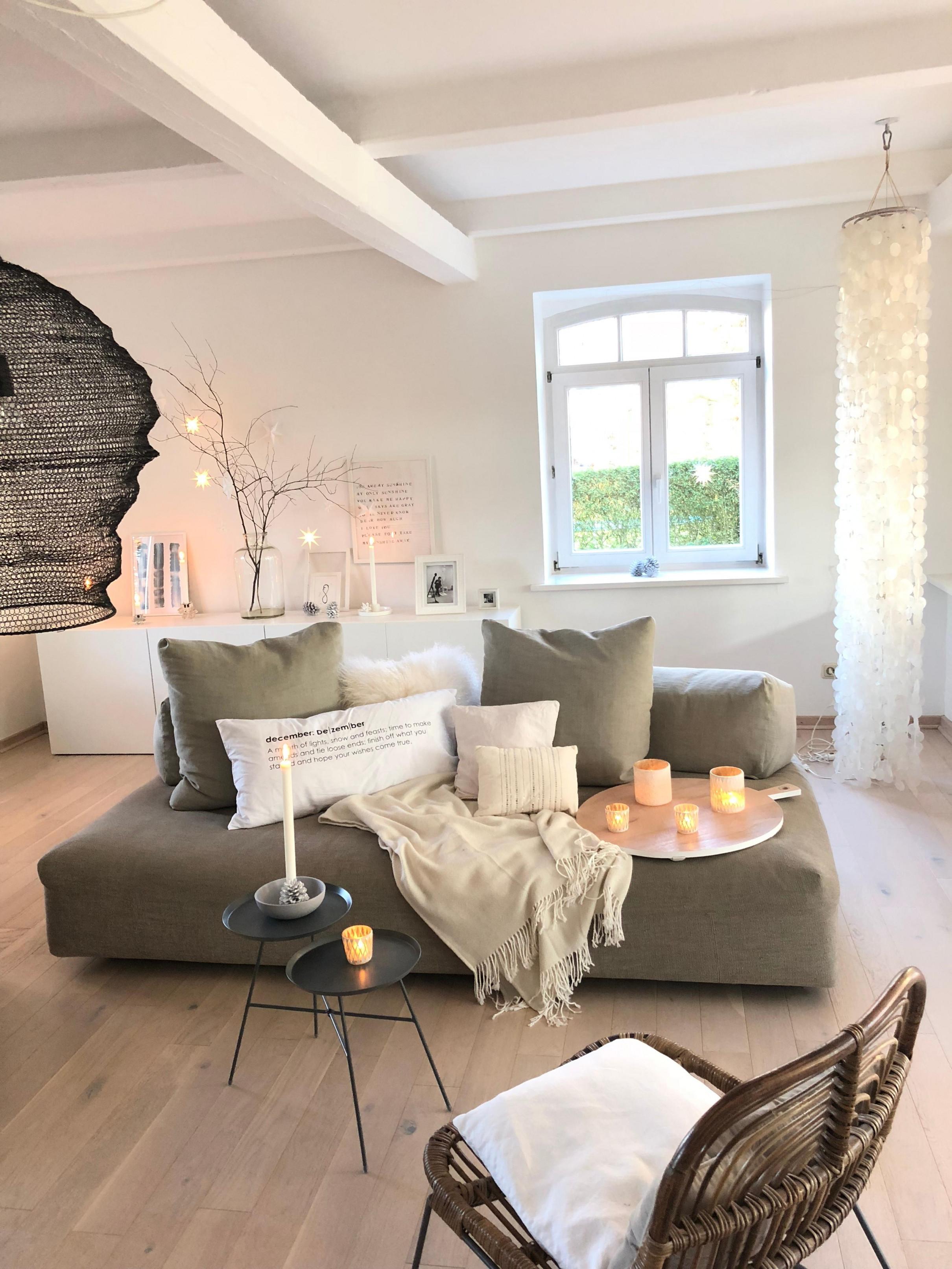 Minimalistisch Wohnen • Bilder  Ideen • Couch von Wohnzimmer Ideen Minimalistisch Bild