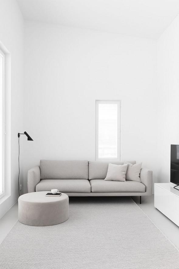 Minimalistisches Wohnzimmer  Minimalist Living Room von Wohnzimmer Ideen Minimalistisch Bild