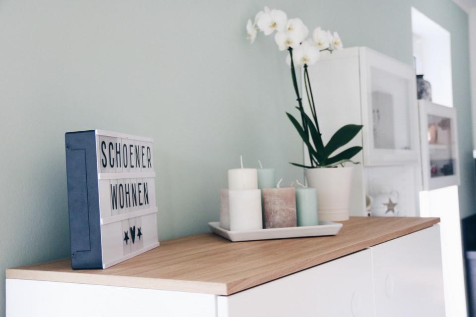 Mintgrüne Wand  Architects' Finest  Schöner Wohnen von Deko Mintgrün Wohnzimmer Bild
