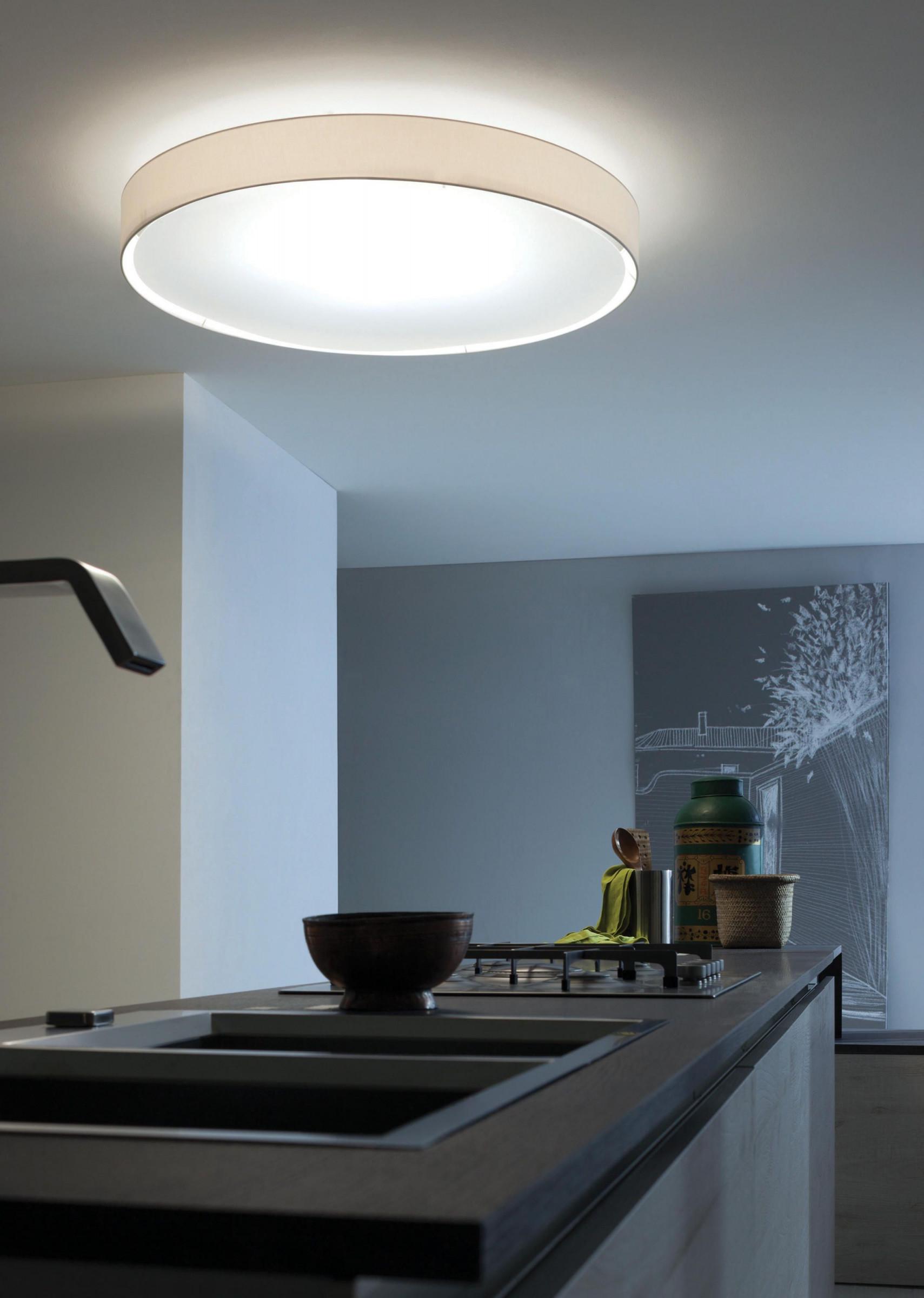 Mirya Deckenleuchte Von Lucente  Lampen Wohnzimmer von Helle Deckenleuchte Wohnzimmer Photo