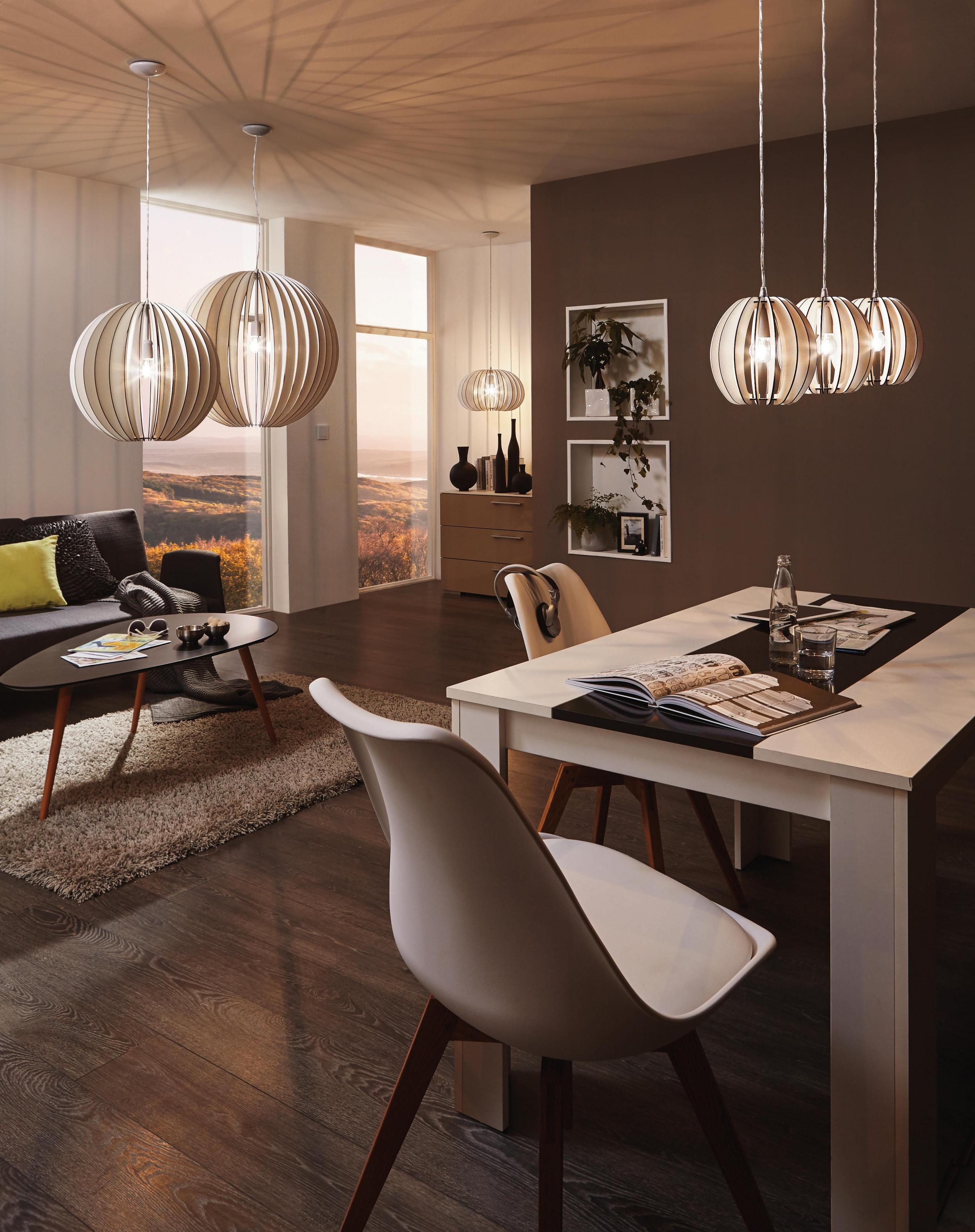 Mit Den Skandinavischen Hängeleuchten Aus Holz Verleiht Ihr von Wohnzimmer Lampe Hängend Holz Photo