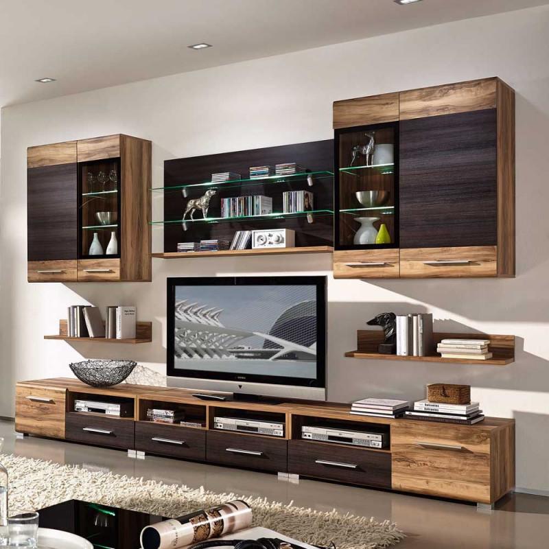 Mit Dieser Wohnzimmer Wohnwand Haben Sie Viel Stauraum von Wohnzimmer Wohnwand Ideen Photo