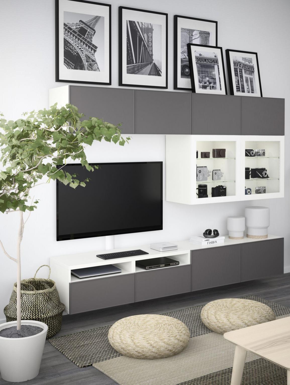 Möbel  Einrichtungsideen Für Dein Zuhause  Wohnzimmer von Besta Wohnzimmer Ideen Bild
