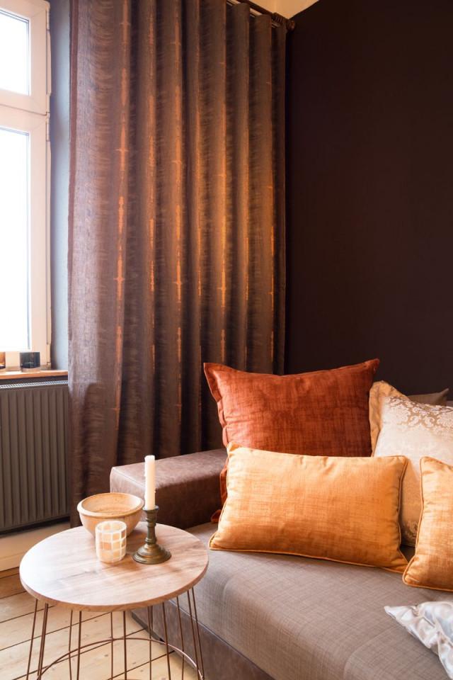 Modern Curtain Living Room  Indes Fuggerhaus  Moderne von Türkische Wohnzimmer Gardinen Photo