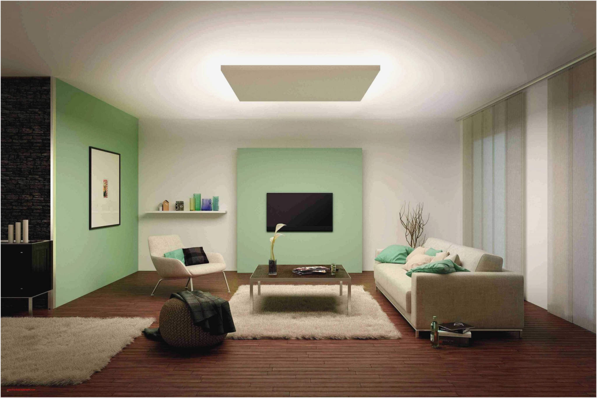 Modern Design Wohnzimmer Deckenlampe  Wohnzimmer von Deckenlampe Wohnzimmer Modern Bild