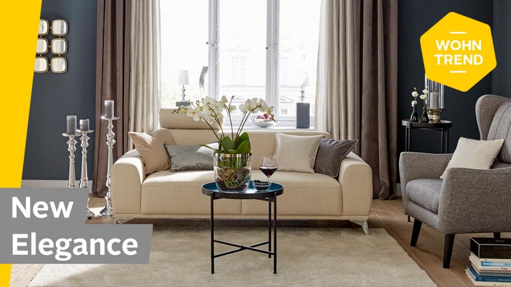 Modern  Elegant Einrichten Dekotipps Für Euer Wohnzimmer  Roombeez –  Poweredotto von Wohnungseinrichtung Ideen Wohnzimmer Bild