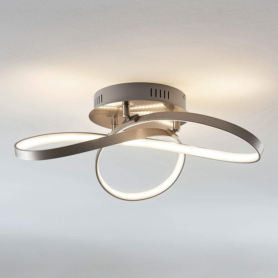 Modern Geformte Leddeckenlampe Saliha  Led Deckenlampen von Led Deckenleuchte Wohnzimmer Modern Photo