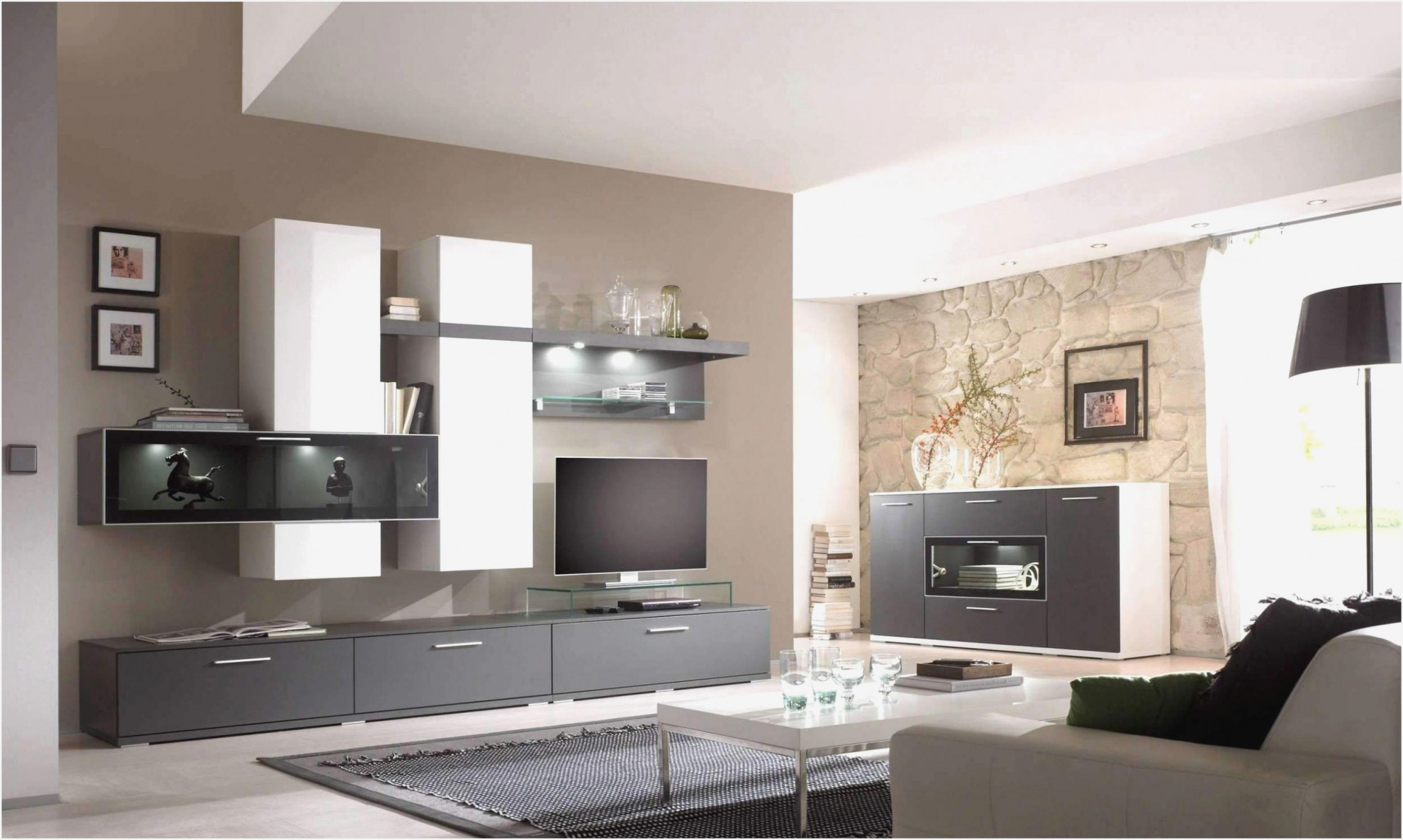 Modern Landhaus Wohnzimmer Einrichten  Wohnzimmer von Wohnzimmer Einrichten Modern Bild