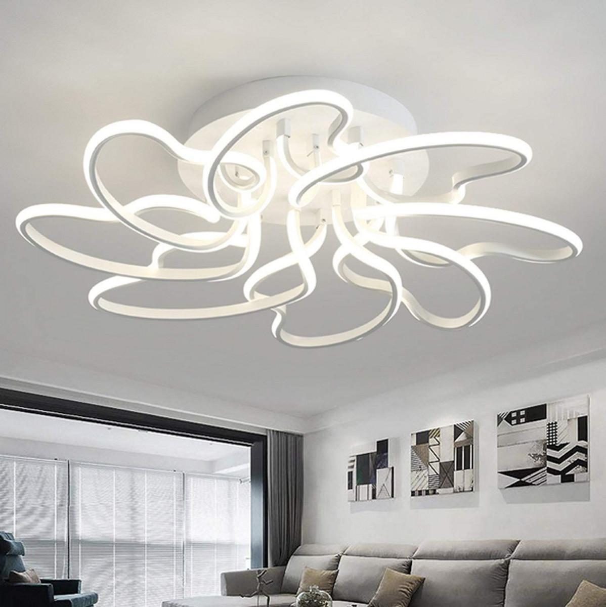 Moderne Deckenleuchten Für Wohnzimmer Arbeitszimmer von Moderne Deckenlampe Wohnzimmer Bild