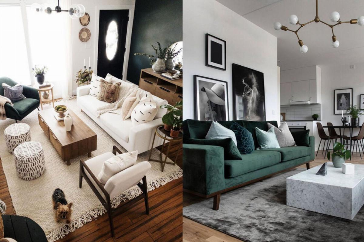 Moderne Einrichtung Coole Tipps Fürs Wohnzimmer  Co  Glamour von Moderne Einrichtung Wohnzimmer Bild