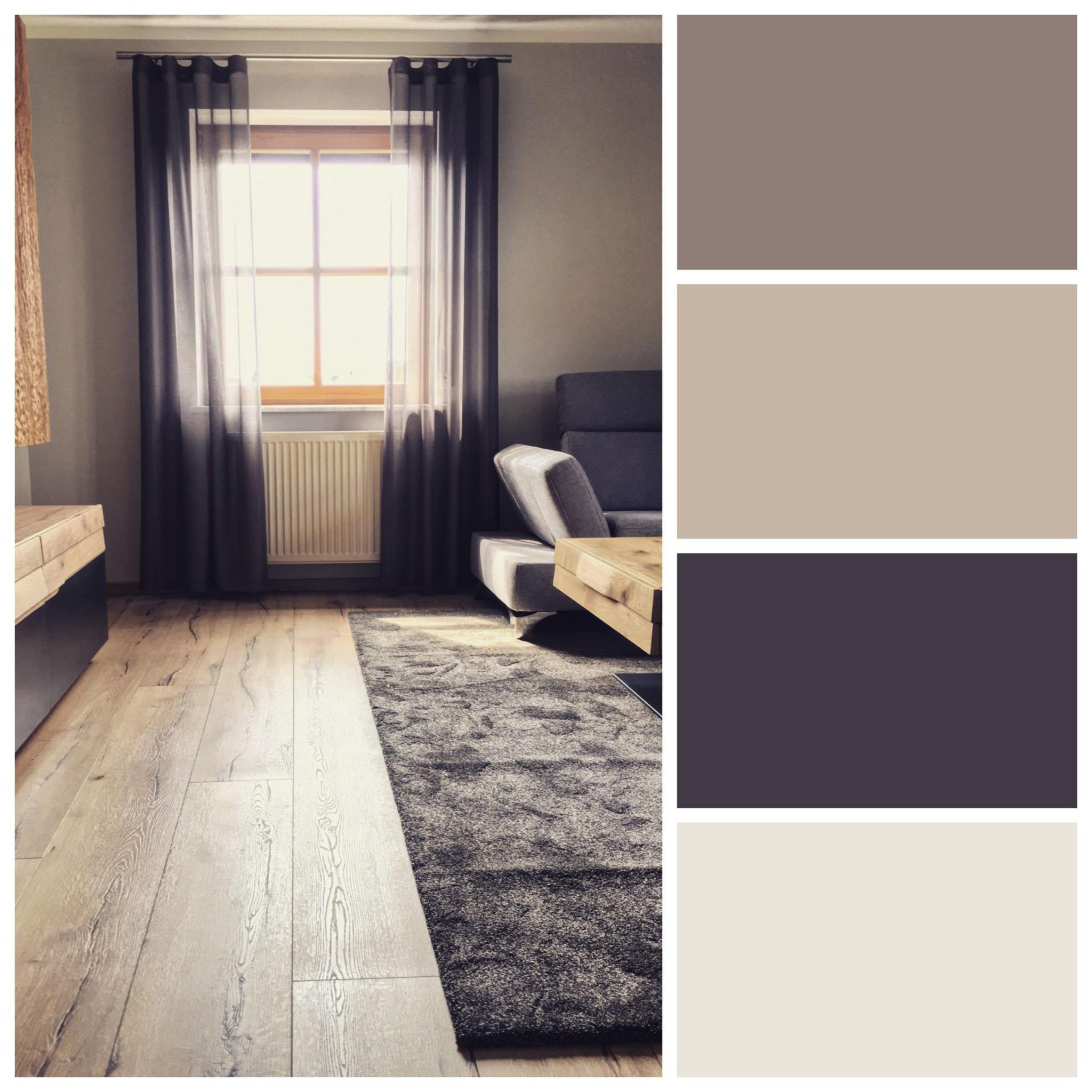 Moderne Farben Im Wohnzimmer  Wohnzimmer Modern von Moderne Wandfarbe Wohnzimmer Bild