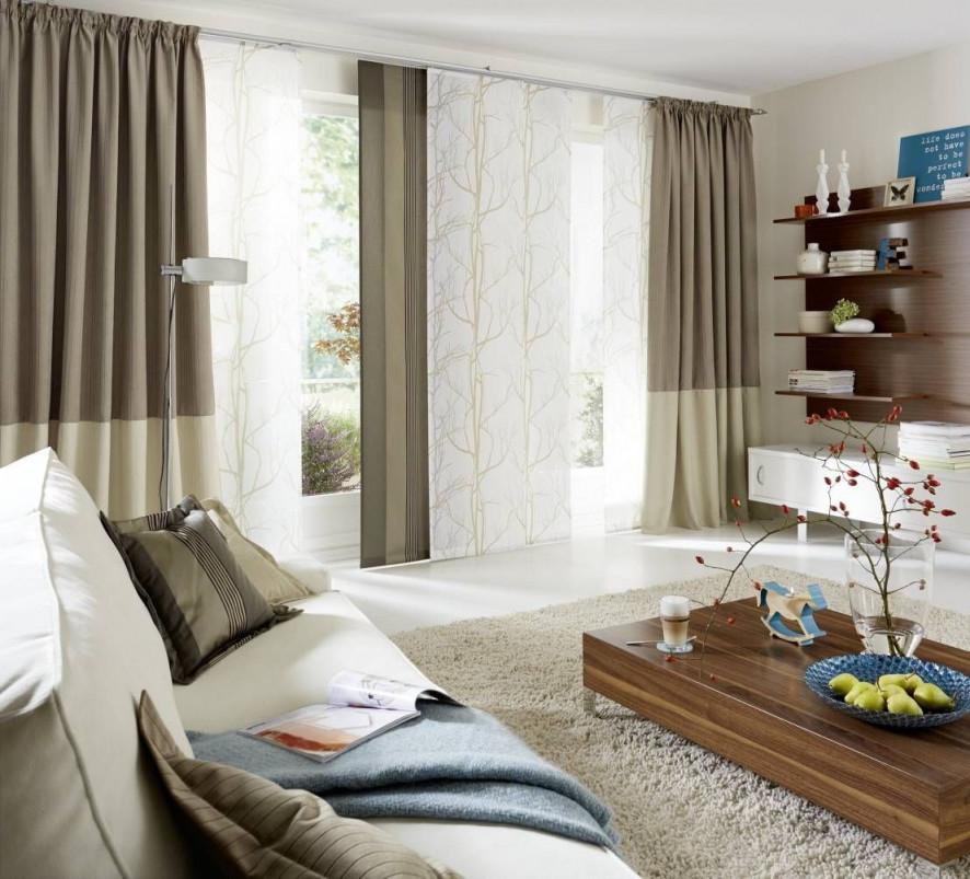 Moderne Gardinen Und Vorhänge  Gardinen Modern Gardinen von Suche Gardinen Wohnzimmer Bild