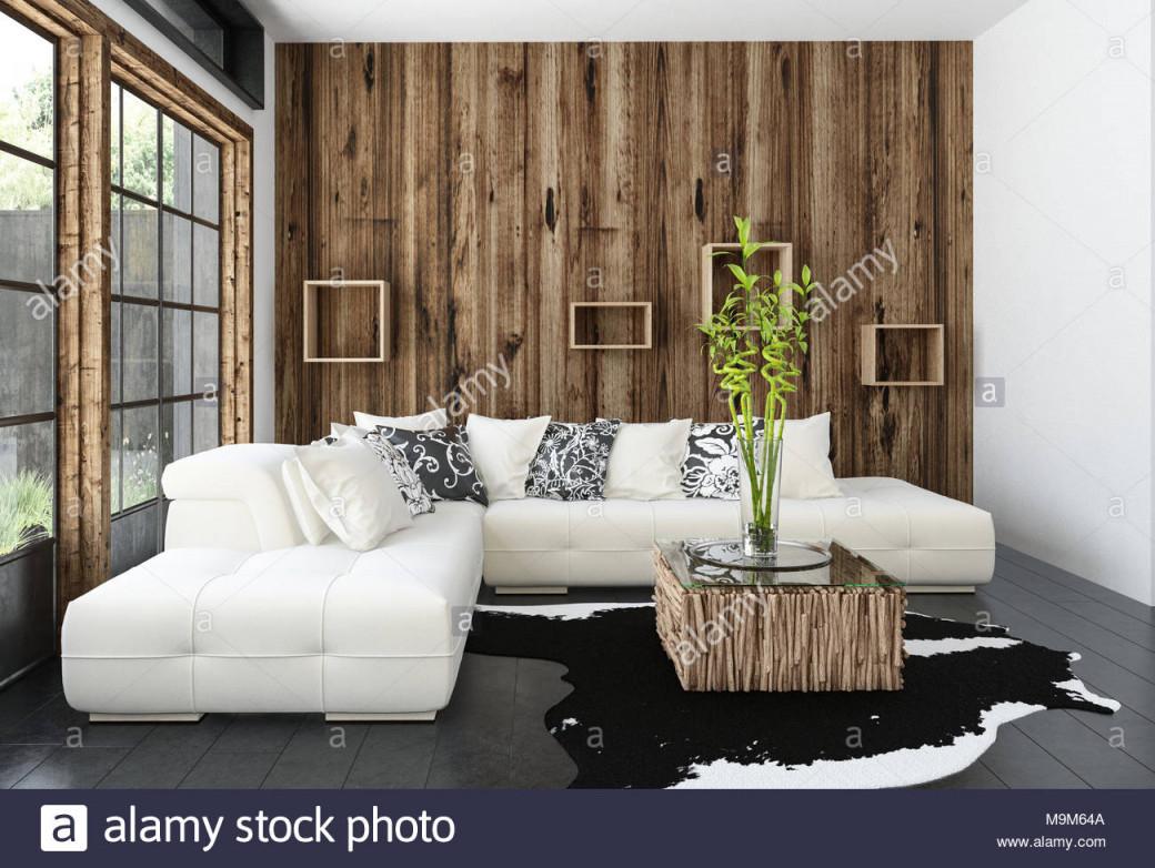 Moderne Gemütliche Rustikale Wohnzimmer Mit von Rustikale Moderne Wohnzimmer Photo
