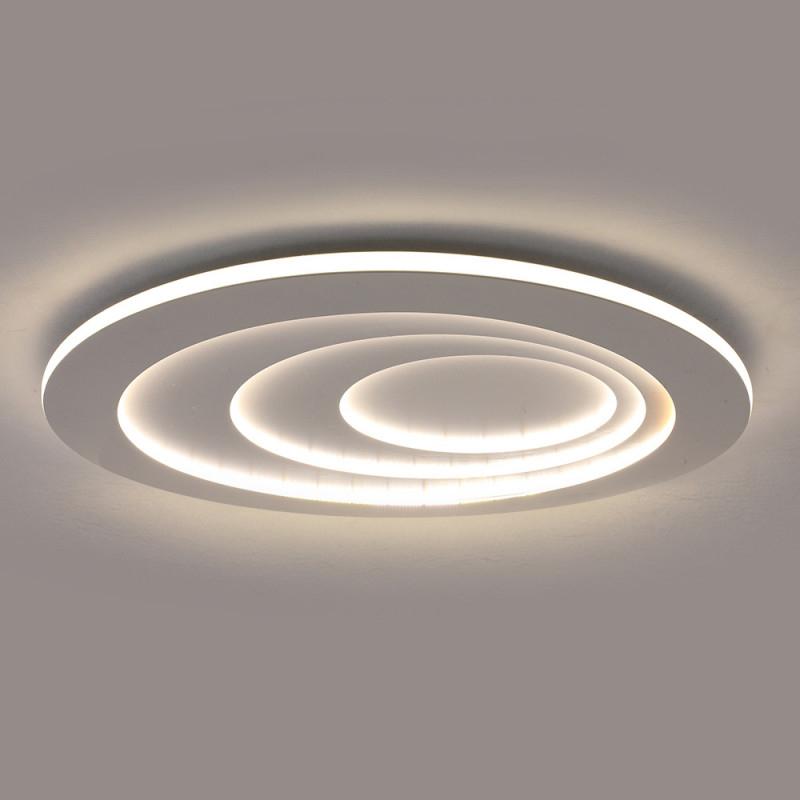 Moderne Led Deckenleuchte Oval Für Wohnzimmer von Deckenlampe Modern Wohnzimmer Bild