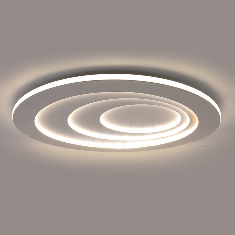 Moderne Led Deckenleuchte Oval Für Wohnzimmer von Wohnzimmer Deckenlampe Modern Bild
