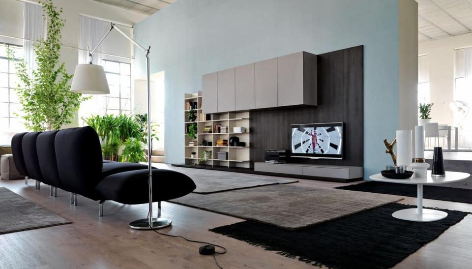 Moderne Möbel Für Wohnzimmer Mit Verkleidungsplatten von Moderne Möbel Wohnzimmer Bild