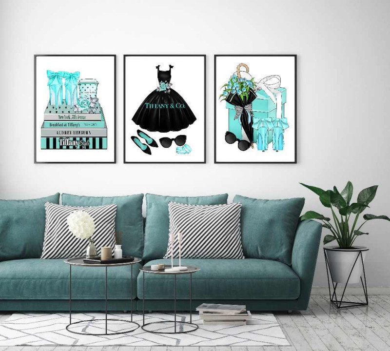 Moderne Wohnkultur Mode Frauen Buch Leinwand Gemälde Für von Bilder Fürs Wohnzimmer Leinwand Bild