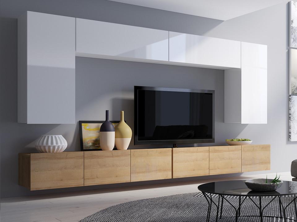 Moderne Wohnwand Schrankwand Wohnzimmer Corona Simson I von Moderne Schrankwand Wohnzimmer Bild