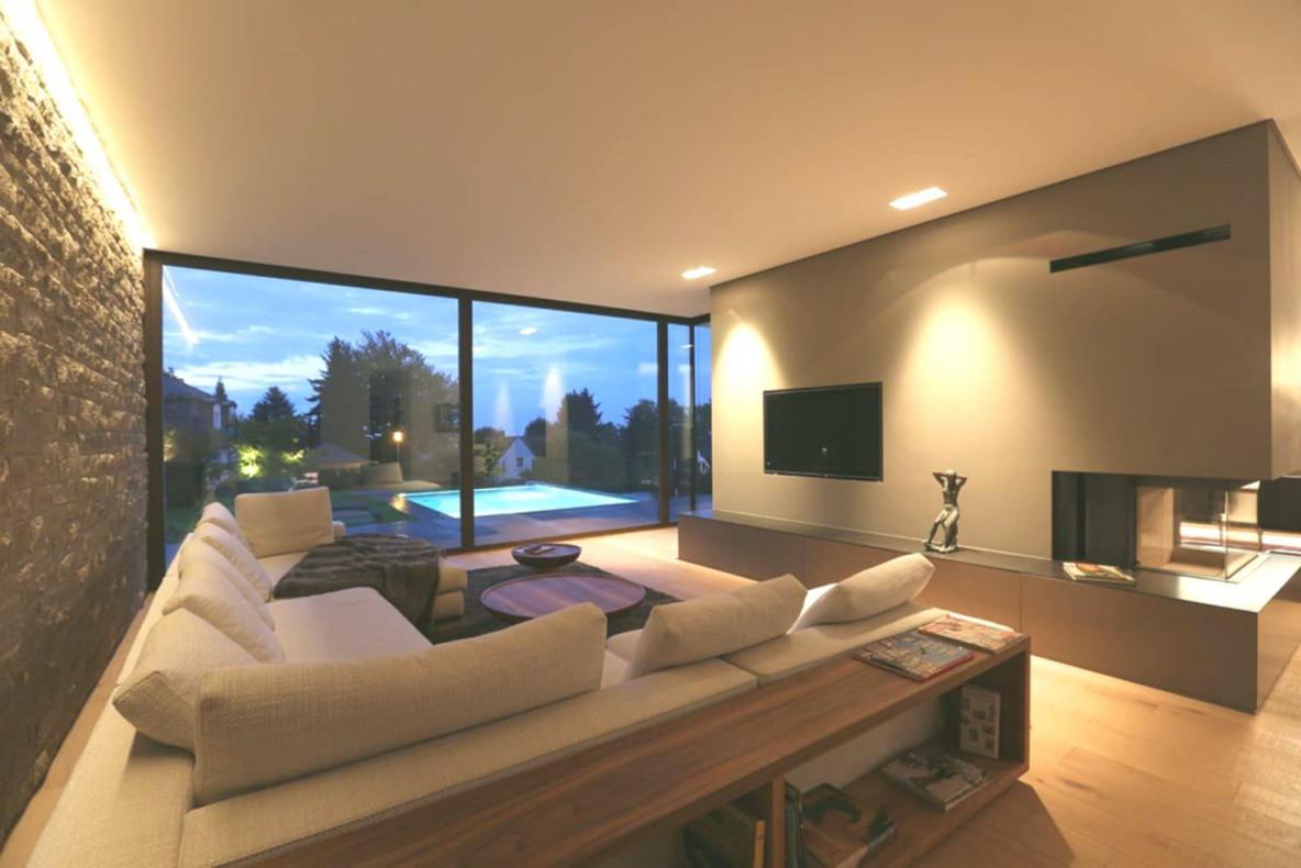 Moderne Wohnzimmer Villa P2 Von Dg D Architekten Modern ...