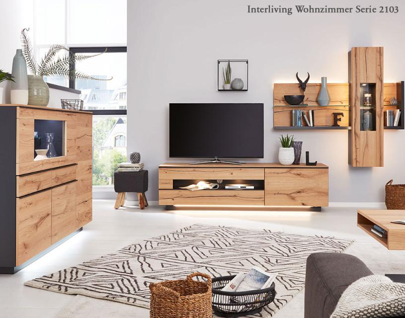 Moderne Wohnzimmer Von Interliving  Weko von Moderne Holzmöbel Wohnzimmer Photo