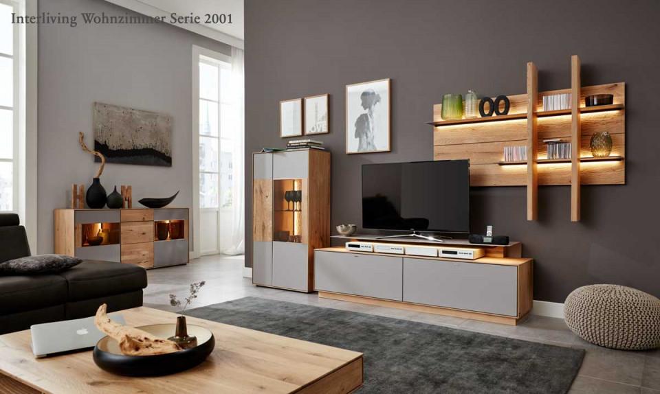Moderne Wohnzimmer Von Interliving  Weko von Moderne Schränke Für Wohnzimmer Photo