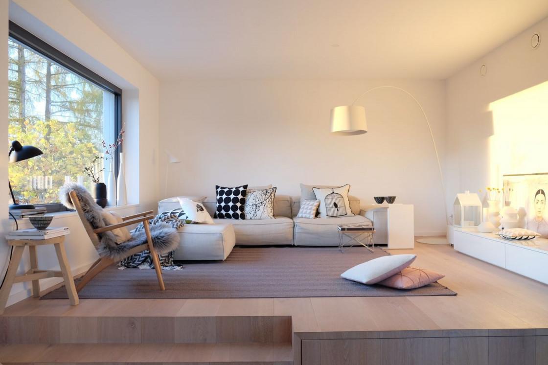 Moderne Wohnzimmer von Moderne Einrichtung Wohnzimmer Photo