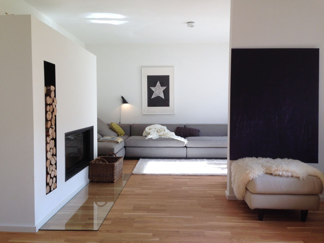 Moderne Wohnzimmer von Modernes Wohnzimmer Einrichten Photo