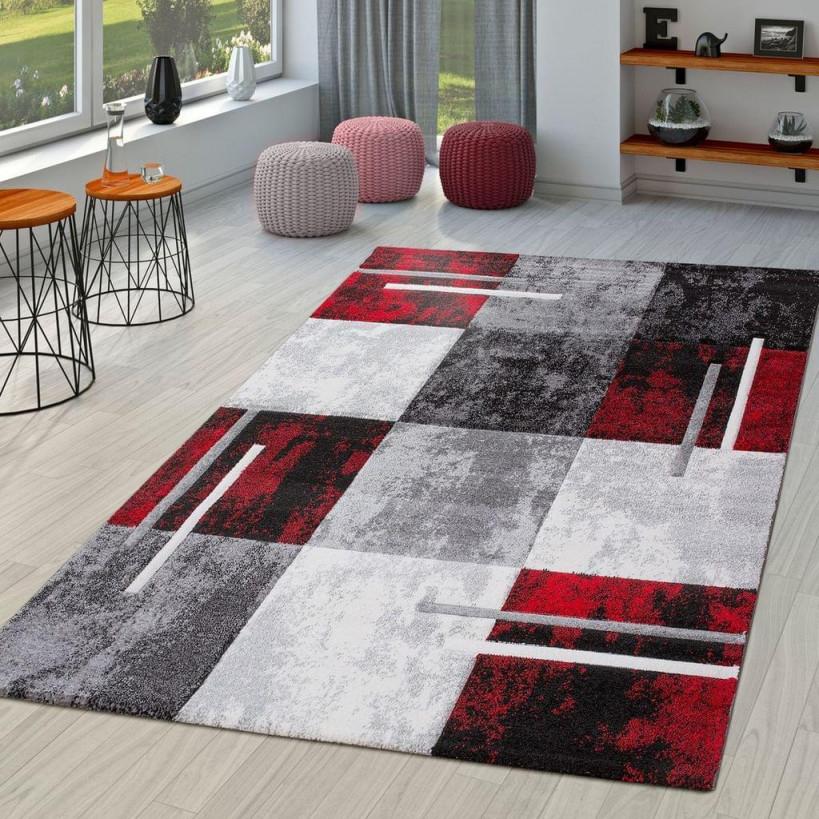 Moderner Teppich Wohnzimmer Milano Mit  Real von Teppich Wohnzimmer Rot Bild