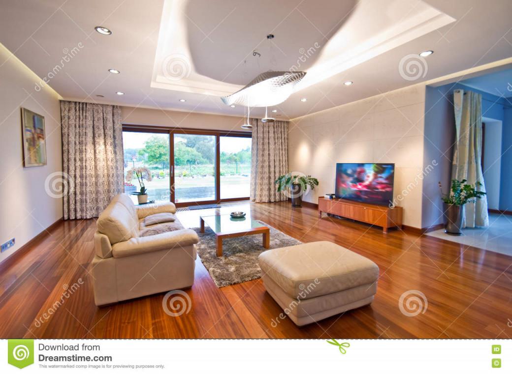 Modernes Elegantes Wohnzimmer Stockfoto  Bild Von Elegantes von Elegante Bilder Für Wohnzimmer Bild