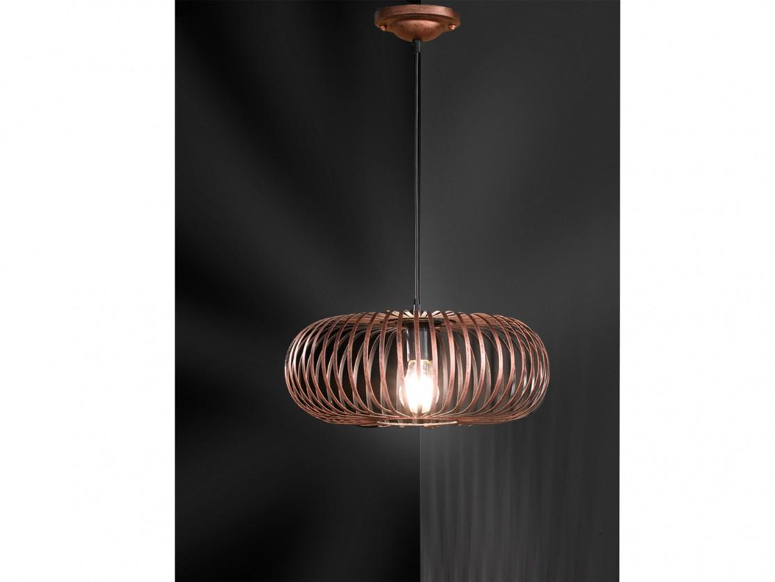 Modernes Metallschirm Pendelleuchte Antik Kupfer Mit Led Für Wohnzimmer   Küche von Wohnzimmer Lampe Kupfer Photo