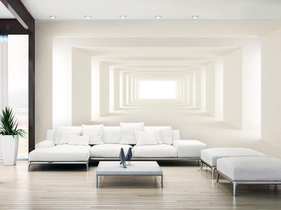 Murando  Fototapete 500X280 Cm  Vlies Tapete Moderne von Moderne Wohnzimmer Tapeten Bild
